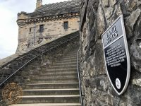 The Lang Stairs at Edinburgh Castle