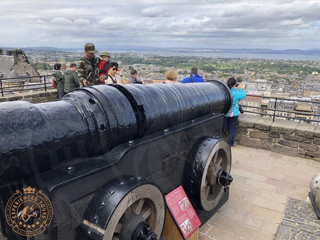 Mons Meg, Medieval gun at Edinburgh Castle