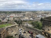 View from Edinburgh Castle over Princes Street