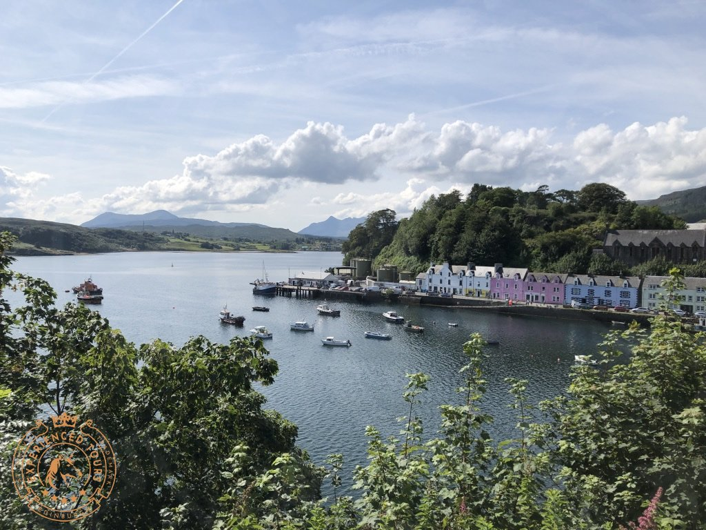 View over Portree Harbour