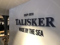 Talisker Distillery sign