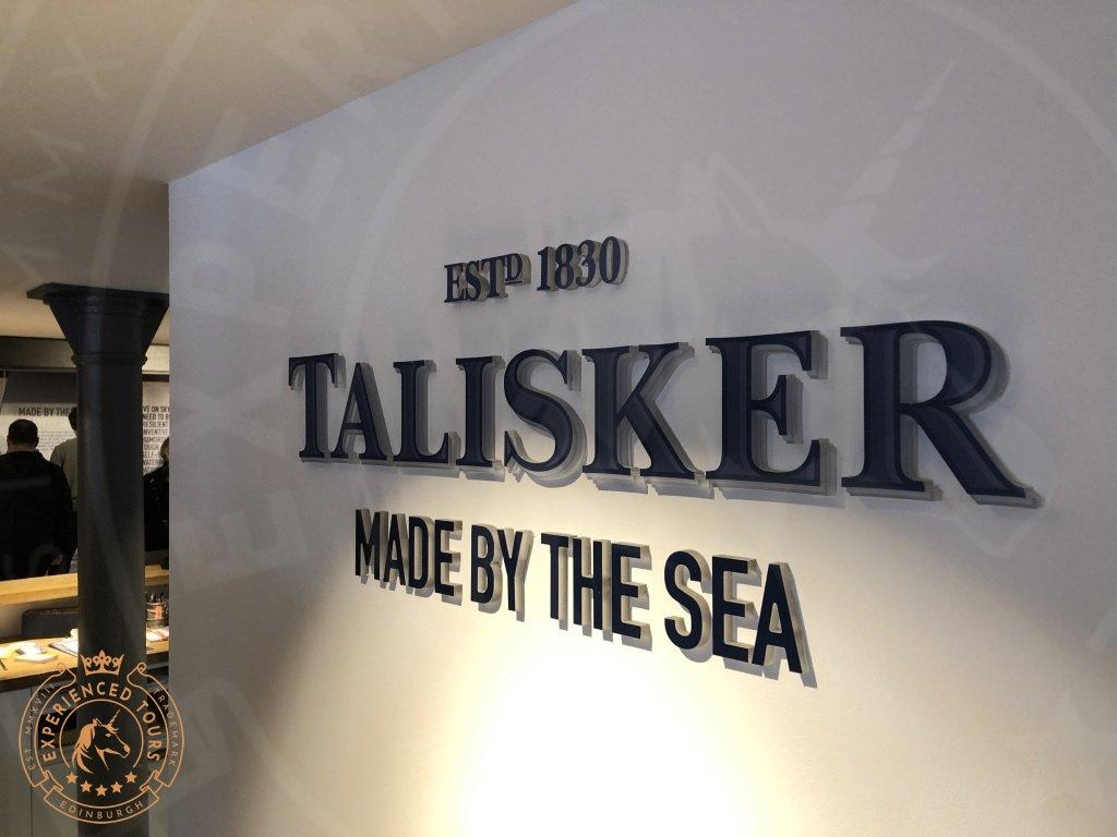 Talisker Distillery sign