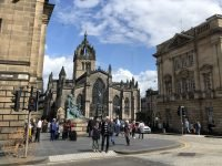 St Giles Cathedral View from Bank Street