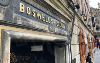 Boswell's Court on the Royal Mile