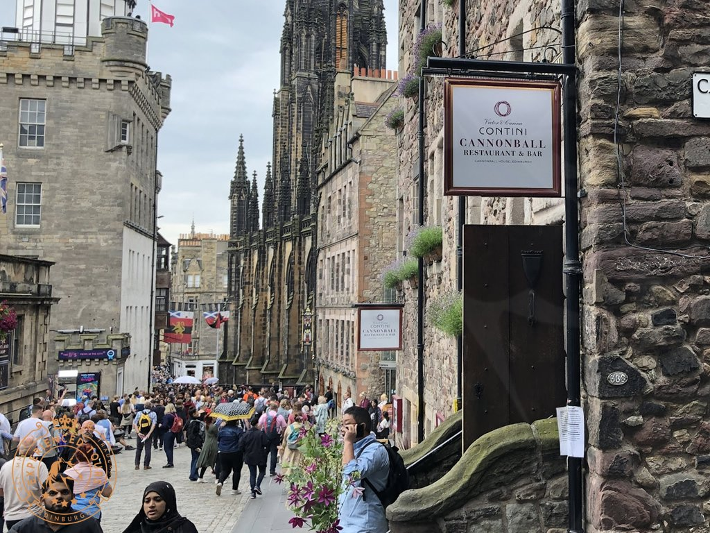 The Cannonball Restaurant on Royal Mile
