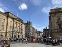 The Edinburgh Fringe Festival on Royal Mile