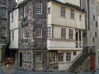 John Knox House on the Royal Mile