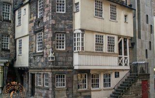 John Knox House on the Royal Mile