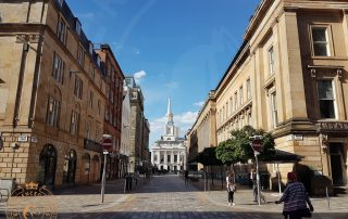 The Merchant City in Glasgow
