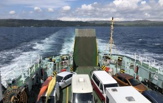 Onboard the Ferry from Mallaig to Skye