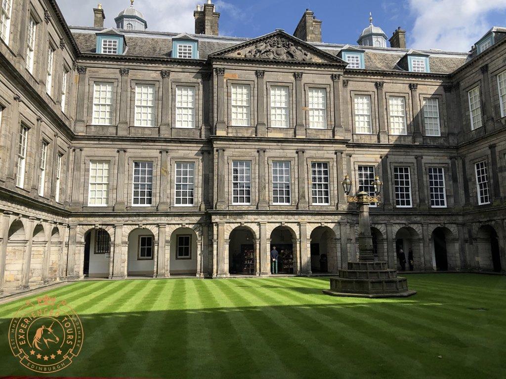 The Quadrant at Holyrood Palace