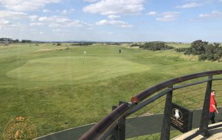 The New Course view from The Swilken Lounge
