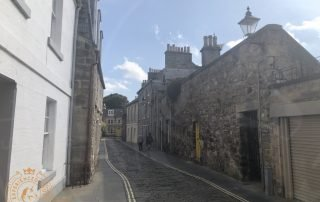 Narrow Lane in central St Andrews