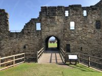 The Entrance and Archbishops lodgings at St Andrews Castle