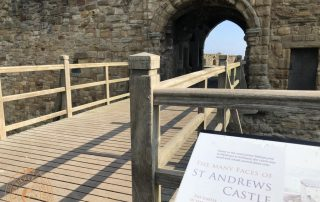The Entrance to St Andrews Castle