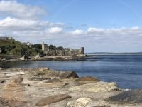 The view to St Andrews Castle from the Harbour