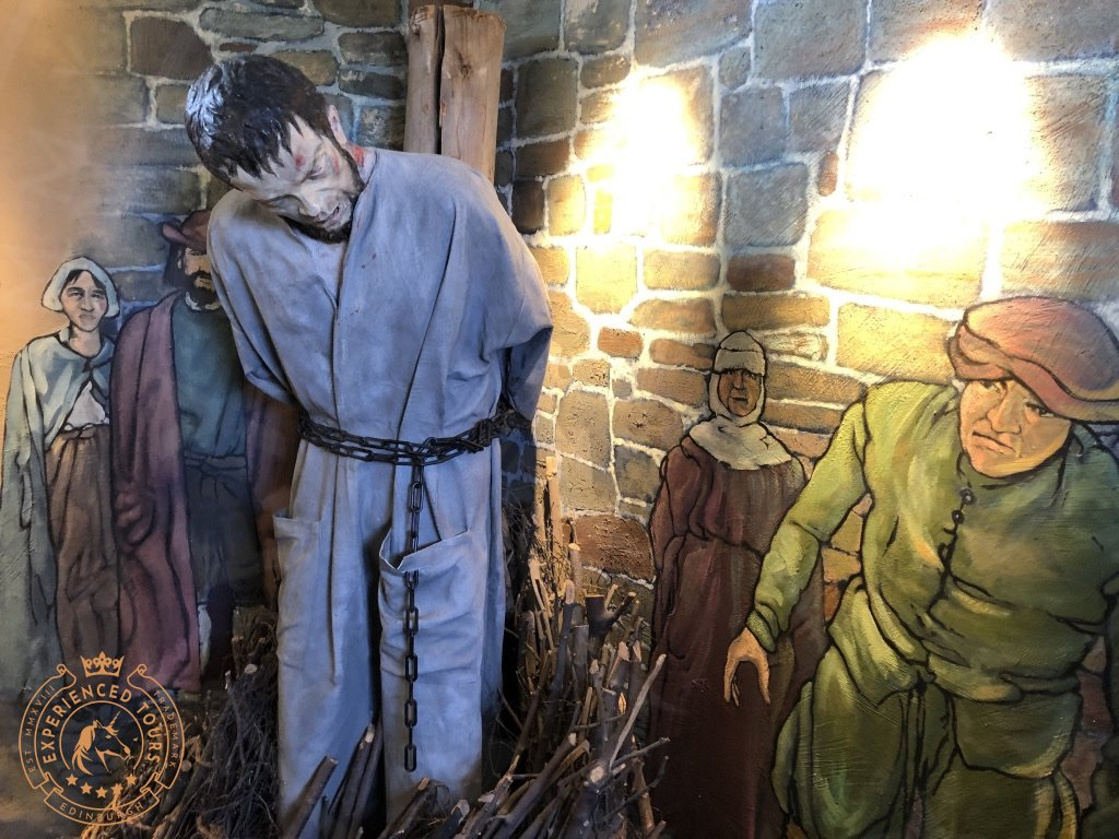 Depiction of a Covenanter in the Castle Museum