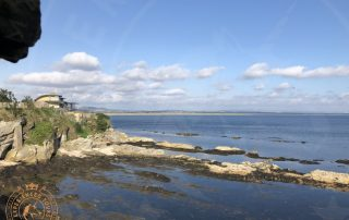The view from the Castle to St Andrews Sands