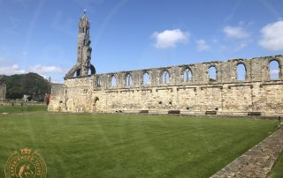 St Andrews Cathedral ruined Cloister