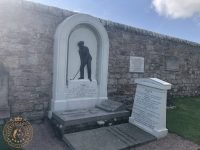 The Grave stone of Old Tom Morris and Young Tom Morris