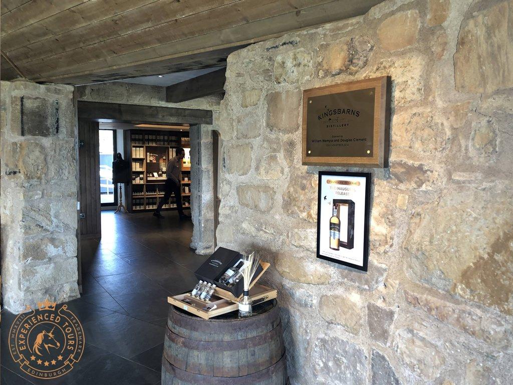 The Original Mill at Kingsbarns Distillery near St Andrews