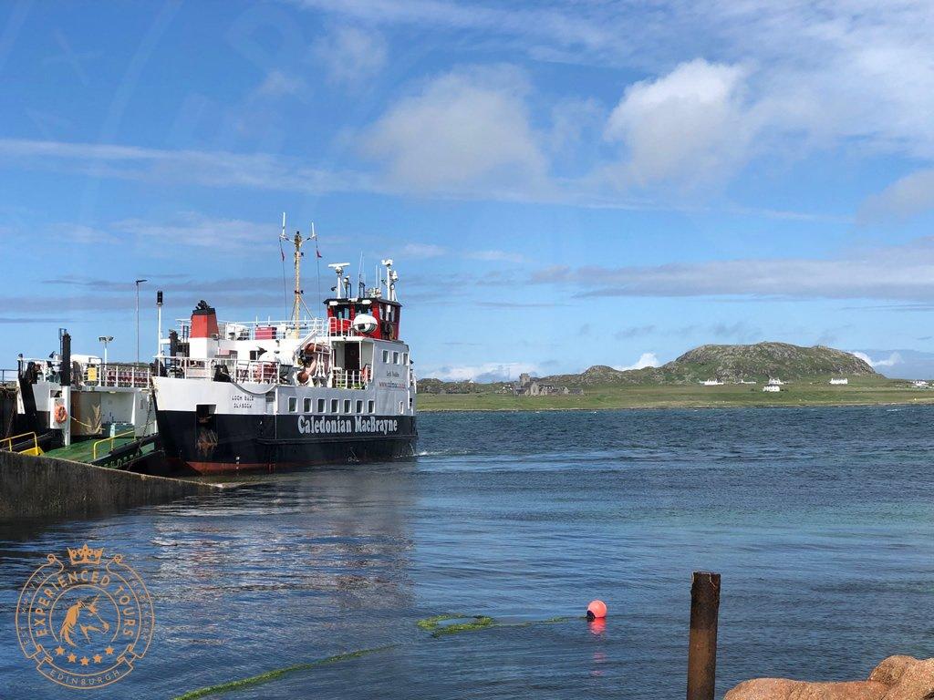 Caledonian MacBrayne operates ferries across the west coast of Scotland