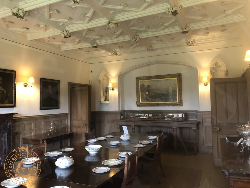 Dining Room at Abbotsford House