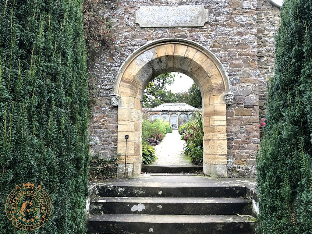 Entrance to Walled Garden at Abbotsford House