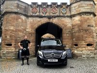 Alexander at Linlithgow Palace Peel