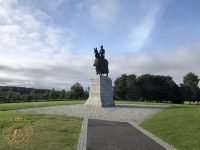 Robert The Bruce statue at Bannockburn