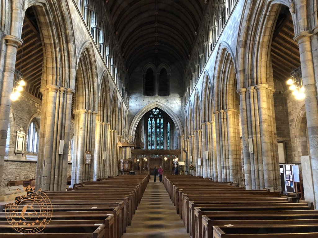 Interior of Dunblane Cathedral
