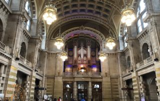 The Organ being played at Kelvingrove