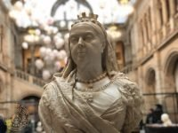 Queen Victoria Bust at Kelvingrove Museum