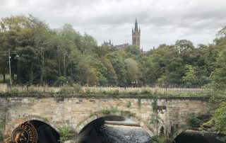 The River Kelvin and Glasgow University