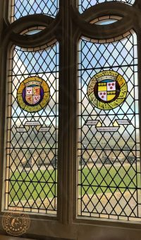 View through window at Stirling Castle