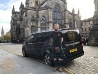Struan on the Royal Mile at St Giles