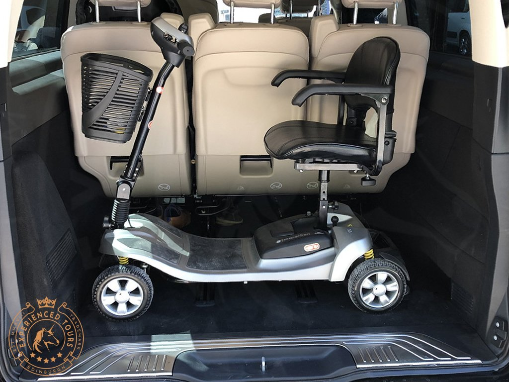 Most mobility scooters can be accommodated