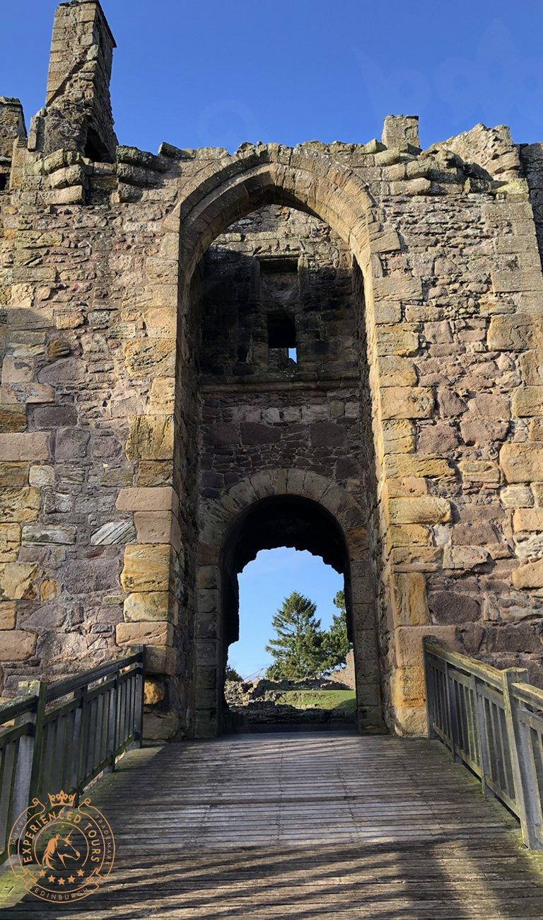 Dirleton Castle Entrance