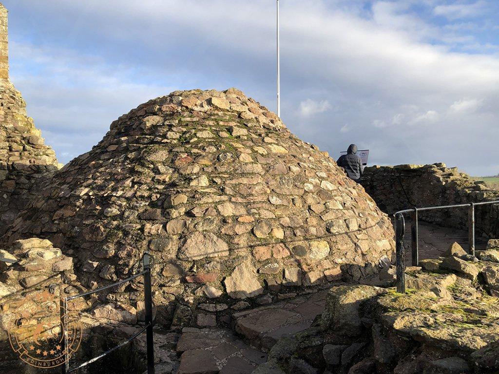 Dirleton Castle Rooftop
