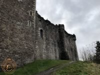 Exterior of Doune Castle