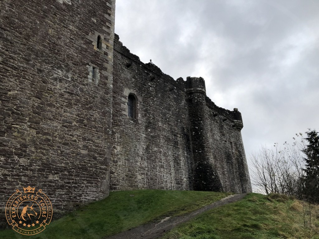 Exterior of Doune Castle