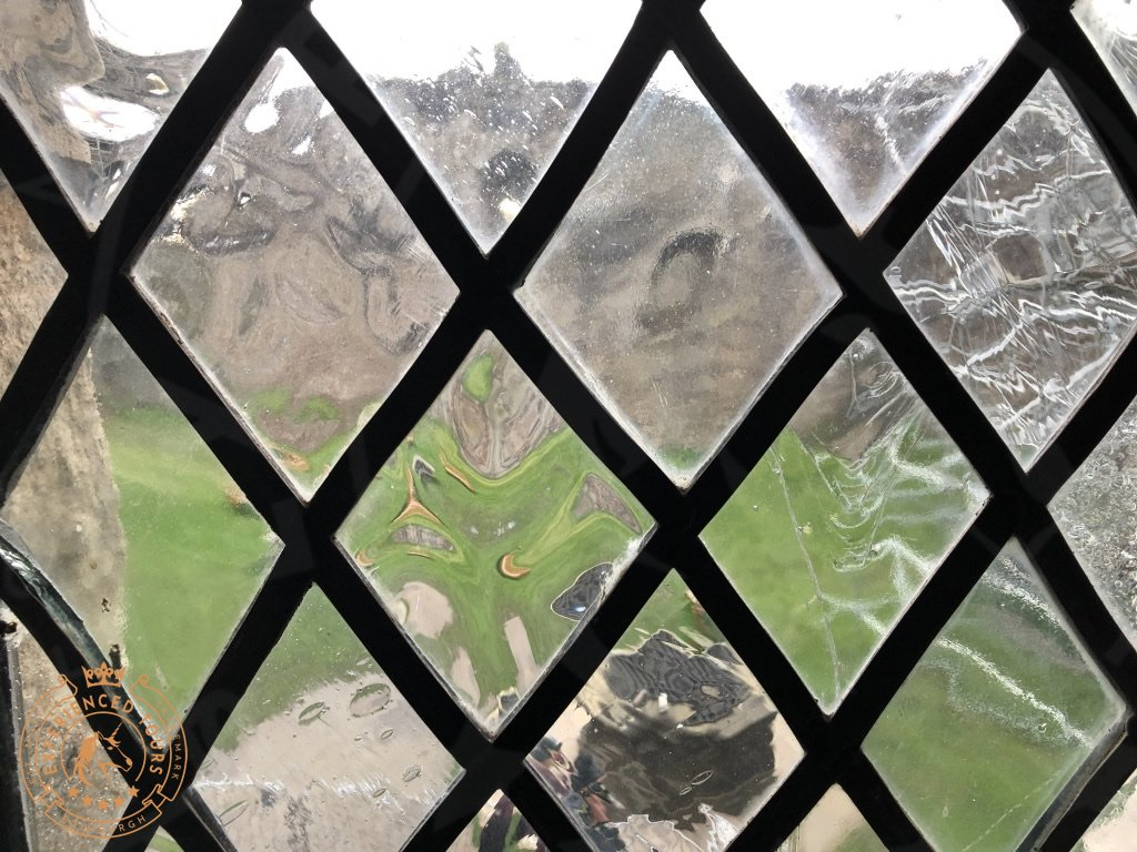 Leaded Glass at Doune Castle