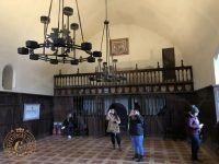 The Lords Hall at Doune Castle