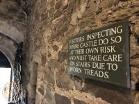 Old Works sign at Doune Castle