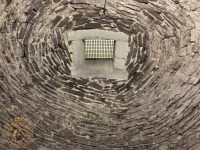 The Well at Doune Castle, now filled in