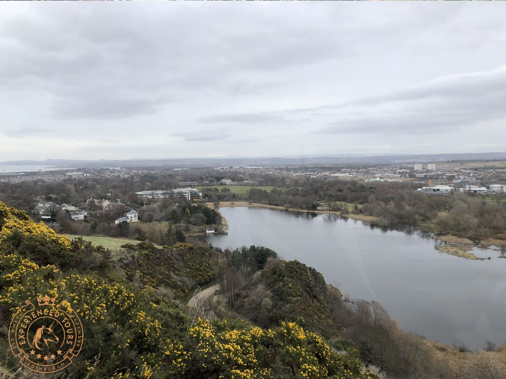 View over Duddingston from Arthur's Seat