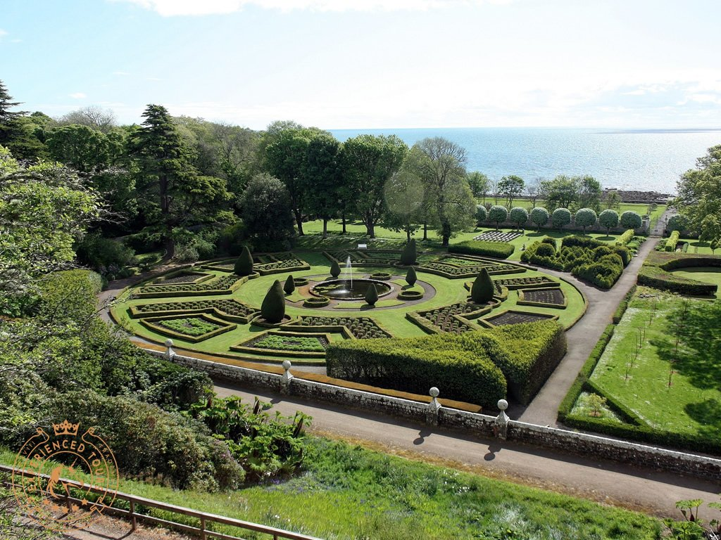 Dunrobin formal gardens