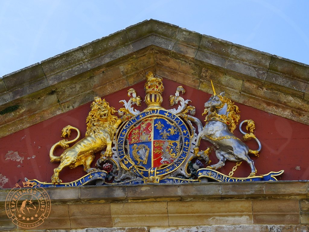 Royal Coat of Arms at Fort George