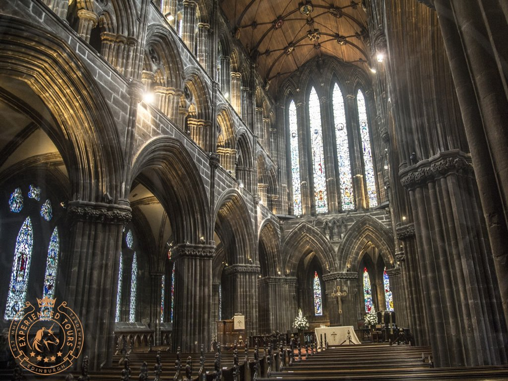 The Choir in Glasgow Cathedral