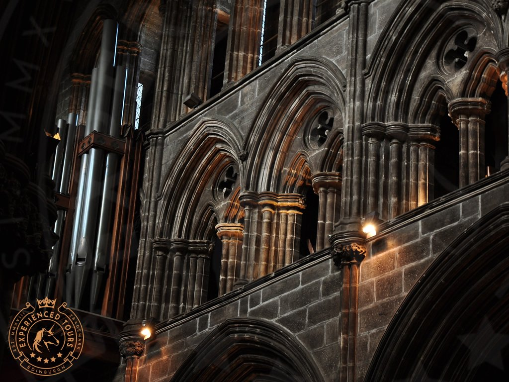Masonry detail in Glasgow Cathedral